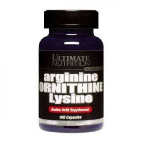 Фото Ultimate Nutrition Arginine Ornithine Lysine