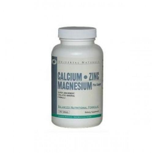 Фото Universal Nutrition Calcium-Zinc-Magnesium, Витамины и минералы